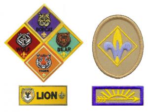 Cub Scouts Rank badges