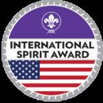 International Spirit Award Patch