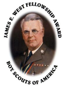 James E. West Fellowship Award logo