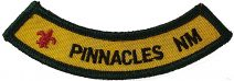 Pinnacles NM patch