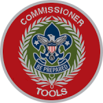 This image links to the National Commissioner Tools pages