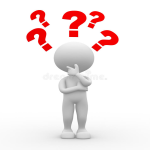 clipart of someone thinking