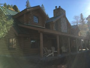 Exterior image of Lodge at Wente Scout Reservation
