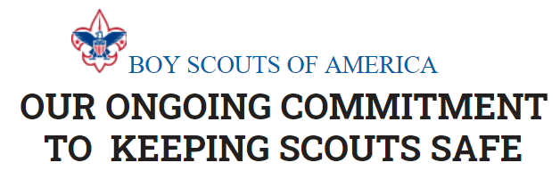 Wording ongoing commitment to Scouting