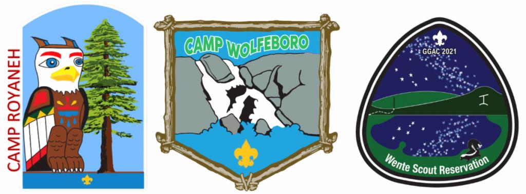 3 camp logos