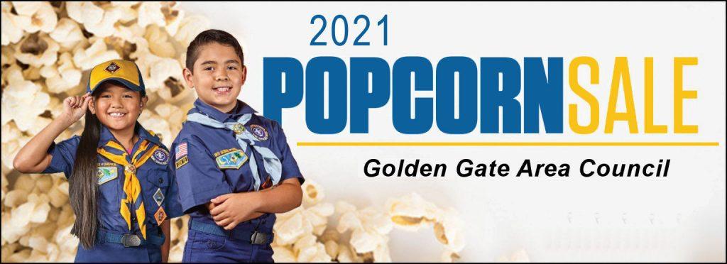 2021 Popcorn Sale banner graphic